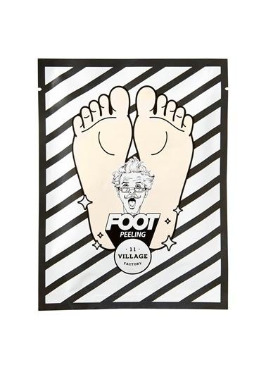Village 11 Factory Relax Day Foot Peeling Mask - Ayak Peeling Maskesi Renksiz